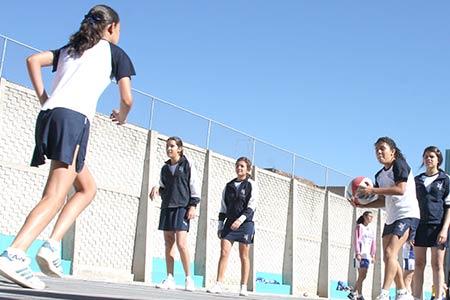 Basquet y voleibol en Secundaria