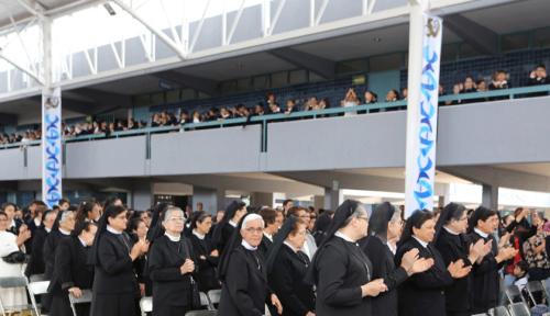 Eucaristía bodas de oro IAJC