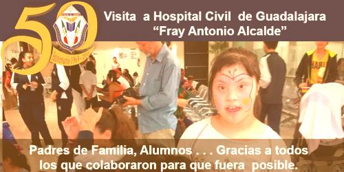 Visita al hospital civil, Fray Antonio Alcalde